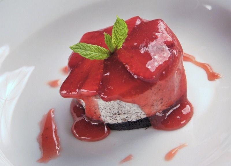 Cheesecake με όρεο