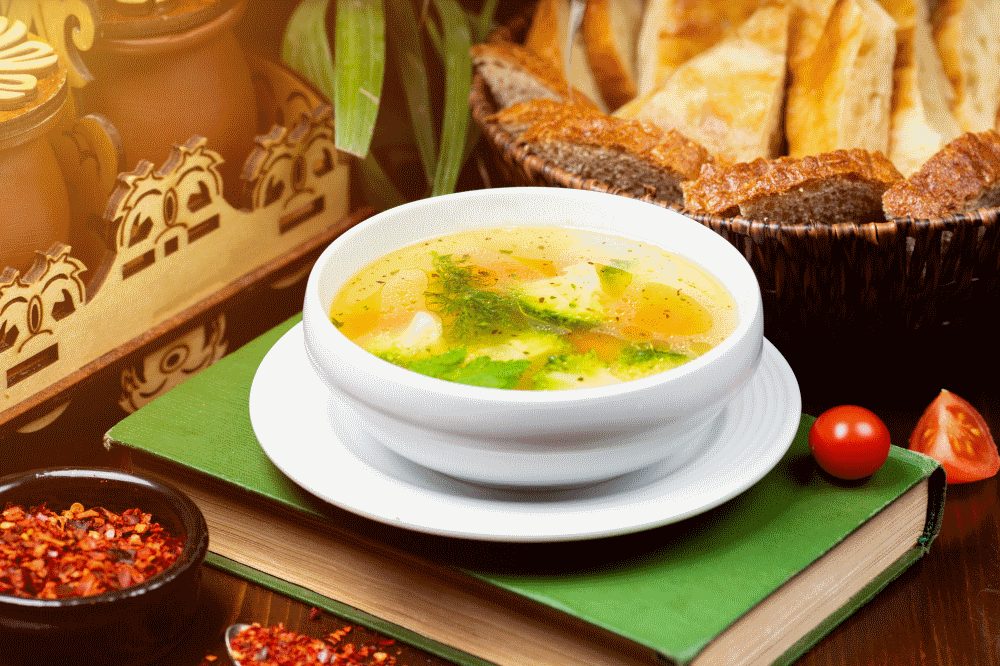 Chicken vegedable soup