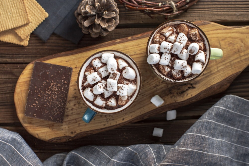 marshmallows hot chocolate
