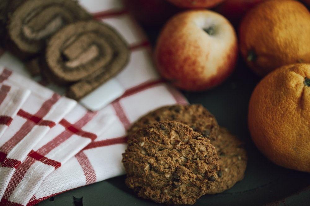 Εύκολα Cookies μήλου χωρίς ζάχαρη