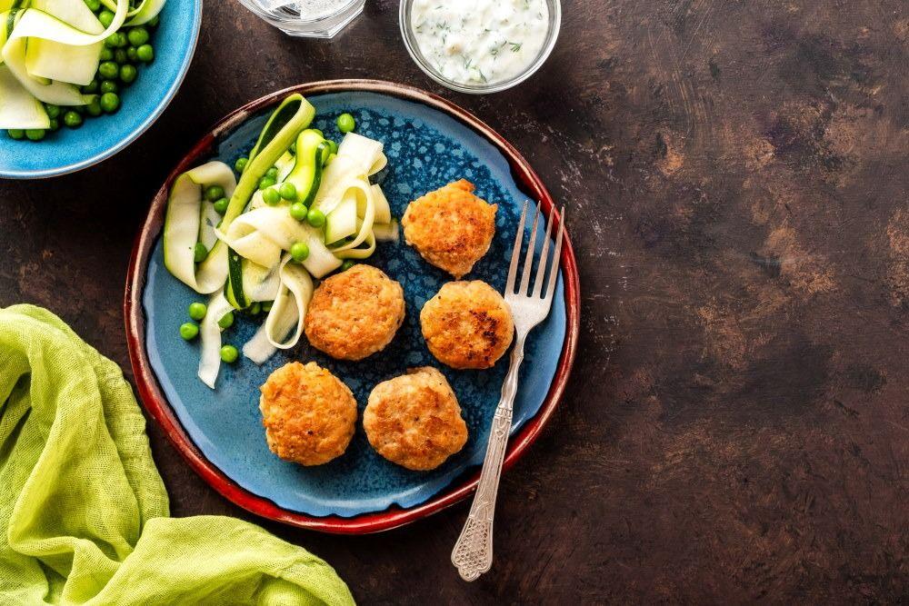 Zucchini Fried Balls