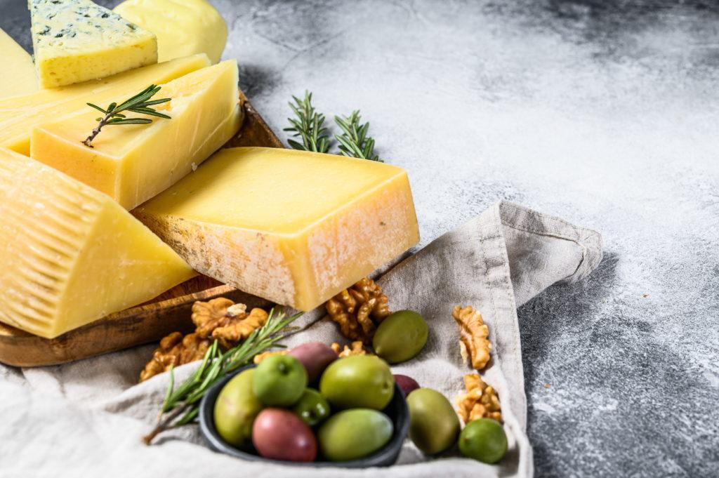 Graviera cheese plate