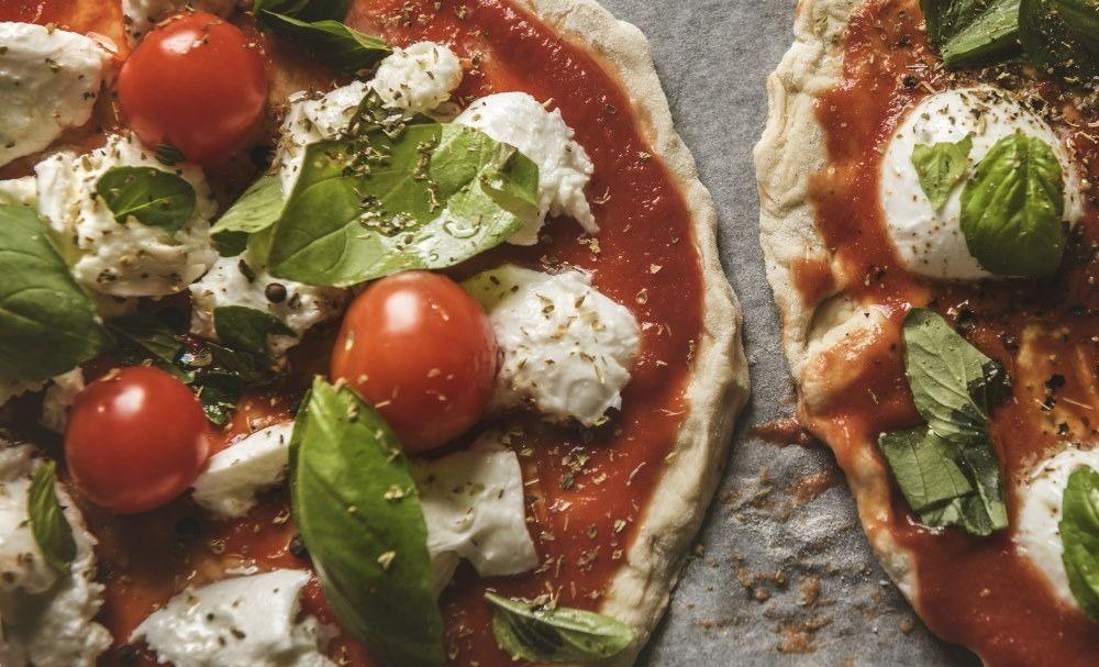 Light pizza