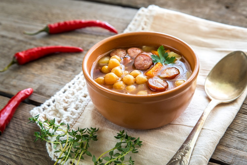 chickpeas soup