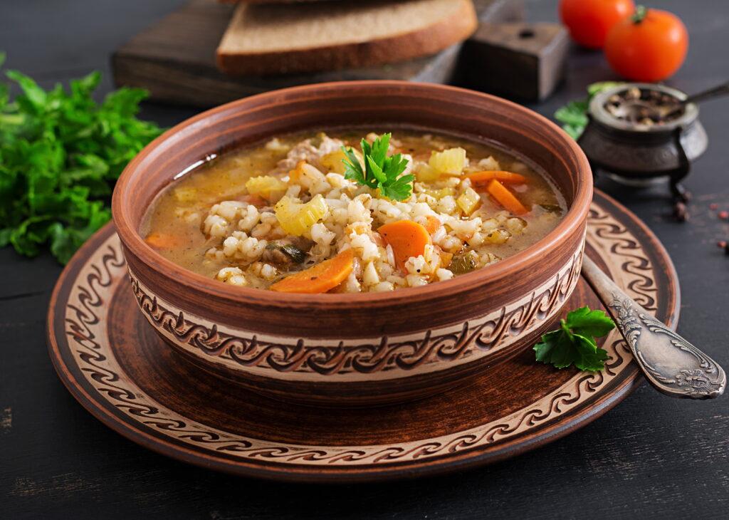 tomato beaf soup
