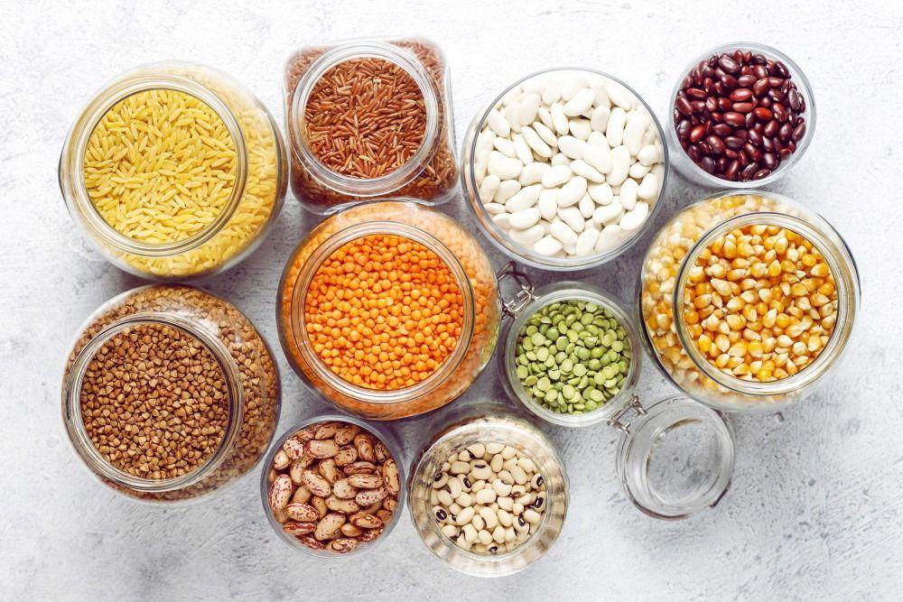 Legumes In Vases
