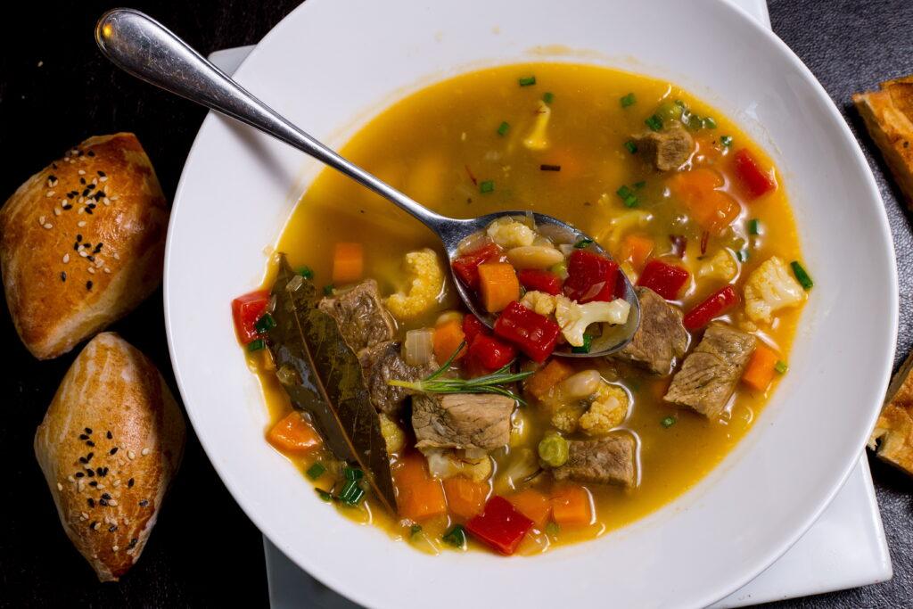 Meat bean soup