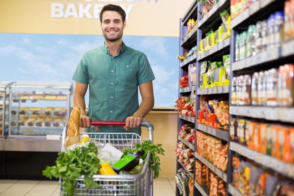 Οργάνωση αγορών από το σούπερ μαρκετ